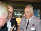 René Bobnar, Präsident der AGVS-Sektion Solothurn (rechts) im Gespräch mit AGVS-Zentralpräsident Urs Wernli.
